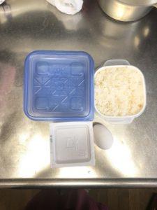 ふわとろ納豆雑炊 材料