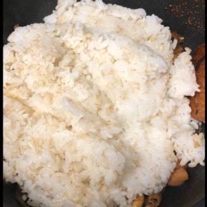 大分鶏めし風 作り方9