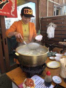 ゆりあげ朝市 水餃子3