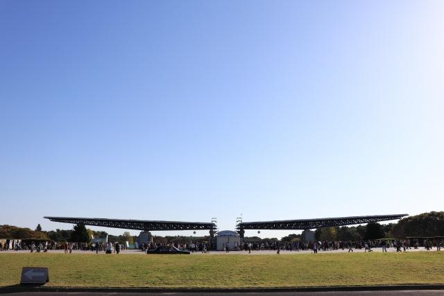 ひたち海浜公園 駐車場