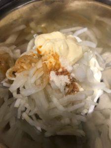 ラク速レシピゆかり 大根サラダ