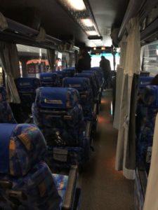 東北急行バス ニュースター号 車内