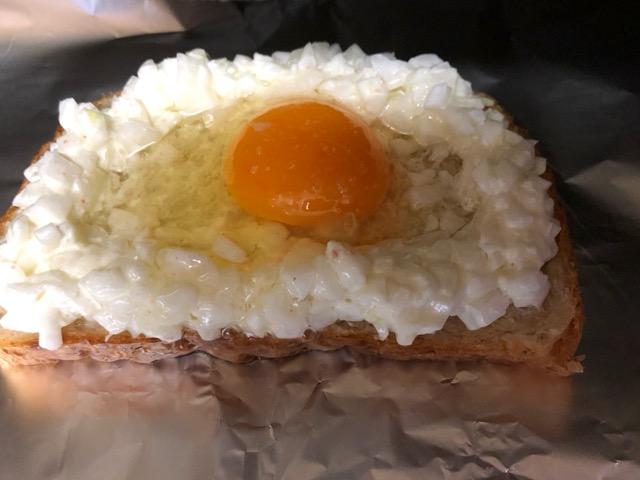山本ゆり 新玉マヨエッグトースト